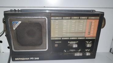 Ferrari 348 gts - Кыргызстан: - Радиоприемник СССР, Меридиан РП-348 Киев, 1988года, в рабочем состоя