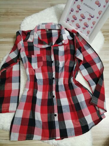 Košulje i bluze | Srbija: Karirana košuljica 🤍Skroz na dnu se rasila oko 2cm, po savu je tako da