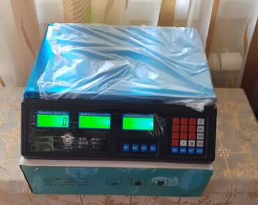 Elektron terezi 40kg cekir,teze,karopkanin icinde. Qiymet sondu