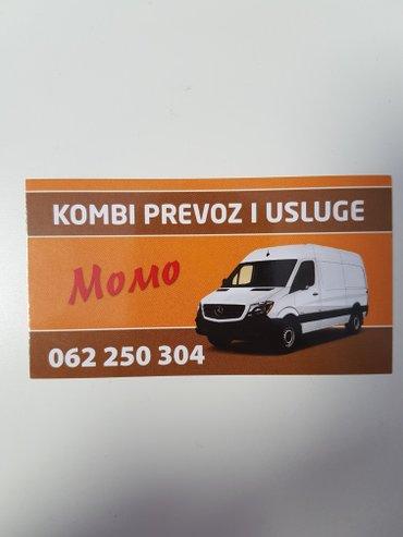 Kombi prevoz po celoj Srbiji. selidbe sa mojim ili vasim - Beograd