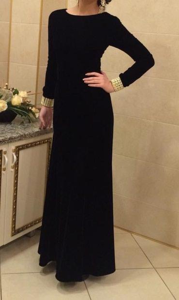 платье бархатное в Кыргызстан: Красивое бархатное вечернее платье сшитое на заказ. Одевали только оди