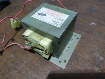 Трансформатор от микроволновой печи. Оригинал