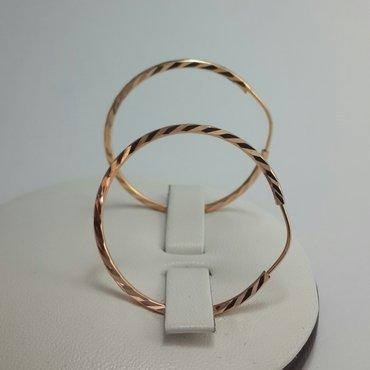 Серьги кольца из красного золота 585 проба. .. в Бишкек