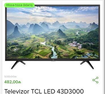 "Istehsalgi- TCL Ekran - 43 ""NoV - LED Smart TV - Var icaza - Full HD"