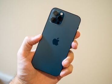 IPhone 12 Pro | 256 ГБ | Синий Б/У | Трещины, царапины, Отпечаток пальца, Face ID