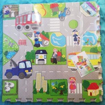 Puzzle - Srbija: Podne mekane puzzleNamenjene su mlađem uzrastu, izrađene su od