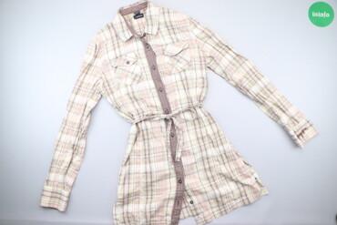 Жіноча сукня-сорочка у клітинку Napapijri, p. M    Довжина: 81 см Шири