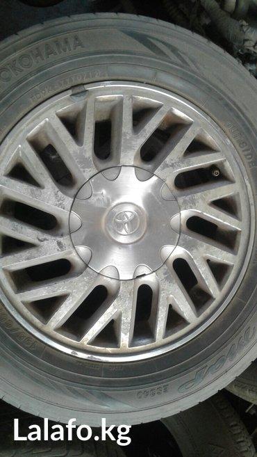 Комплект оригинальных дисков Toyota R14 5 в Бишкек