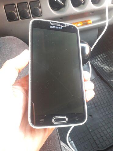 телефон fly bl9205 в Азербайджан: Б/у Samsung Galaxy S5 16 ГБ Черный