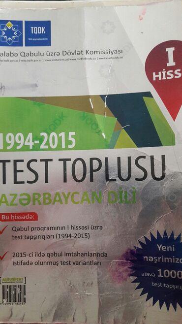 bmw 318 1994 - Azərbaycan: Azərbaycan dili test toplu 1994-2015