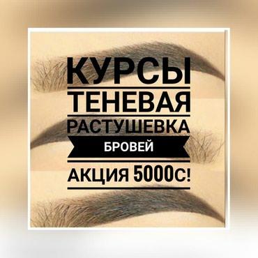 Курсы обучение теневая растушевка в Бишкек