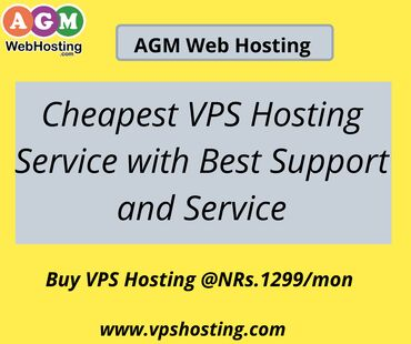 Cheapest VPS Hosting Service with Best Support and Service:  Nepal's C