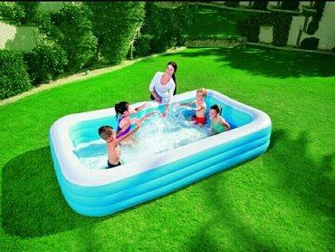Навес для бассейна - Кыргызстан: Бассейн надувной, бассейн bestway 54009, купить в бишкекев надувном
