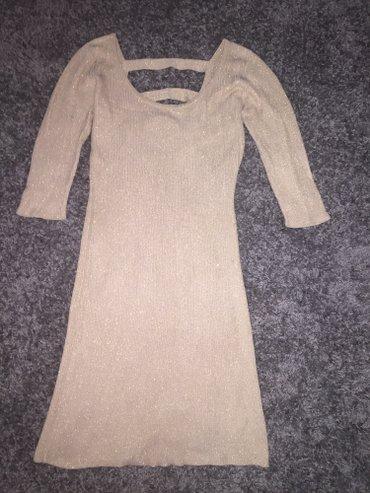 Haljina, nova bez zlatne boje, mnogo lepa odlicna za zimu i jesen - Zajecar