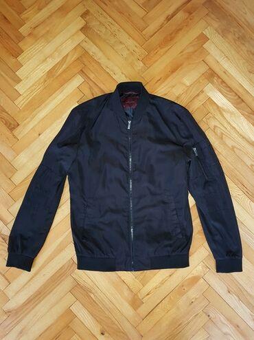 Muška odeća | Sremska Mitrovica: ZARA MEN jaknica za prelazni period, veličina M.Prodajem jer je bratu