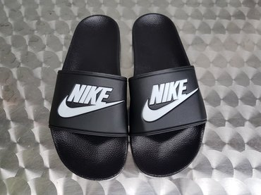 Nike Muske Crne Papuce-Made In Vietnam-Extra Kvalitet-NOVO- - Nis