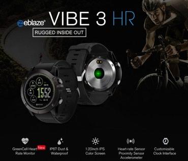 Aksesuarlar Bakıda: Zeblaze Vibe 3 HR  Diqqet! Saat Sensor ekran deyil.  Smart saat Zeblaz