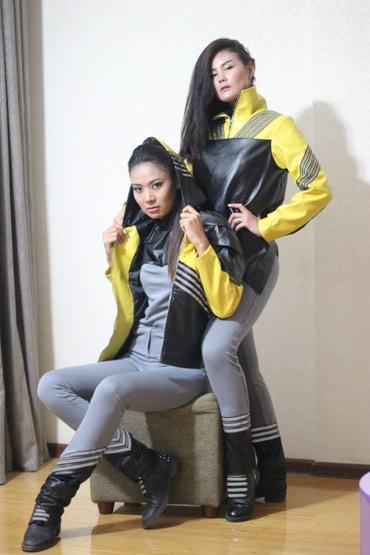 стирающая кожаная куртка в Кыргызстан: Кожаные куртки3 штуки .размер 44