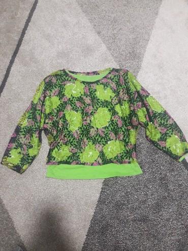 Zelena bluzica je kao nova,velicina S. - Prokuplje