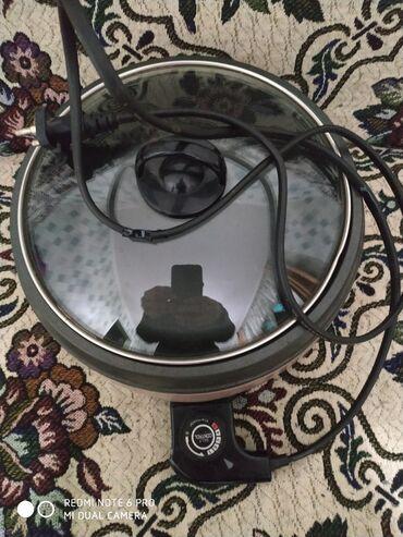 Электронная сковородка шикарная вещь тефаль.Жарит иварит и парит