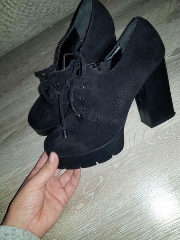 Осень туфли замша одевалась один раз почти новый