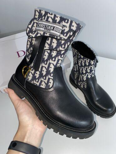 инверсионные ботинки бишкек in Кыргызстан   ГРУЗОВЫЕ ПЕРЕВОЗКИ: Женские ботинки( еврозима ) в стиле Christian Dior Материл: Натуральн