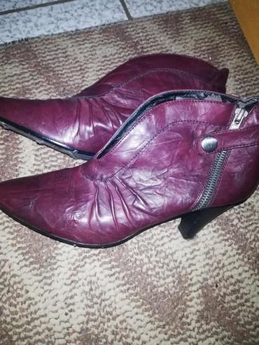 Cipele bordo, kozne, udobne