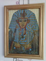 "Картина из папируса ""Фараон"" в Бишкек"
