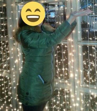 Куртка пуховик носили зимой. очень в Бишкек