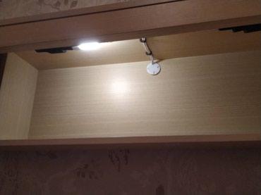 Кровать с тумбами. Матрац. в Бишкек