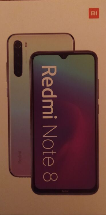 redmi-note-8-pro-бу в Кыргызстан: Б/у Xiaomi Redmi Note 8 128 ГБ Черный