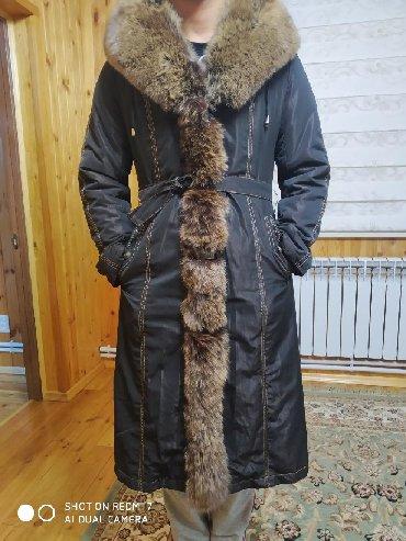 женский плащ весна в Кыргызстан: Продаю пальто-куртку с меховым,кроличьим подкладом и песцовым