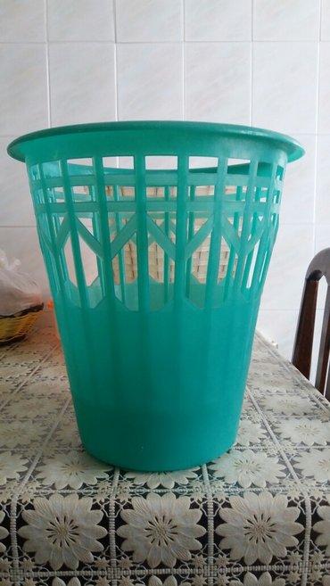 Sumqayıt şəhərində plastik vedrə