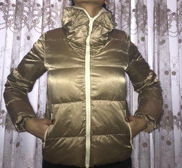 Куртка теплая и очень удобная, в Бишкек