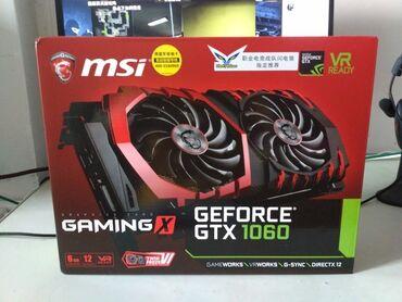 Продаю игровую видеокарту MSI GAMING X GTX1060 6gbСостояние: идеал