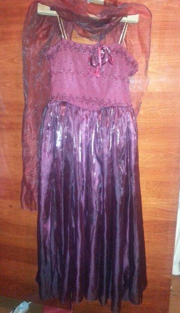 Нарядное,чуть пышное платье,б.у.но в Бишкек
