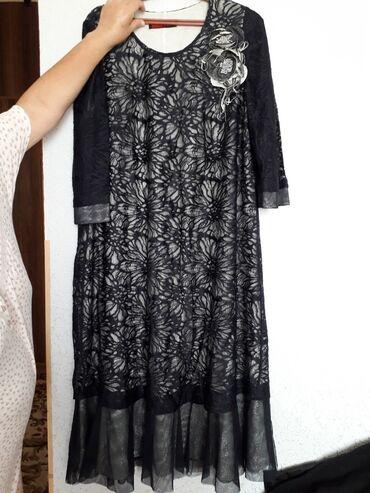 вечернее платье 54 размера в Кыргызстан: Платье вечерная купида за 6000 отдам за 3000 очень красивая 54 размер