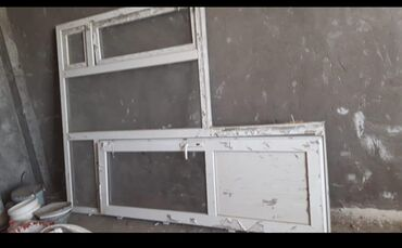 Qapi pencere bir yerde satilir 110 manata .unvan Yasamal#Rumi