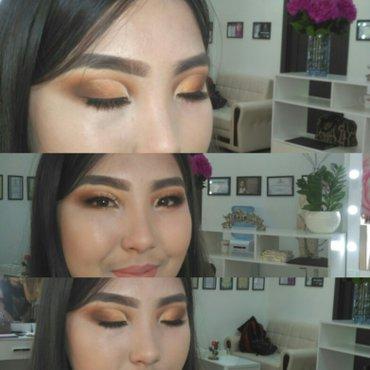 делаю макияж с выездом на дом, люксовая косметика, стоимость вечерного в Бишкек