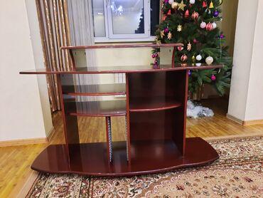 телевизор века в Кыргызстан: Подставка массив дерево. торг уместен
