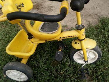 велосипед с детской коляской в Кыргызстан: Детский велосипед-коляска, в хорошем состоянии, все механизмы