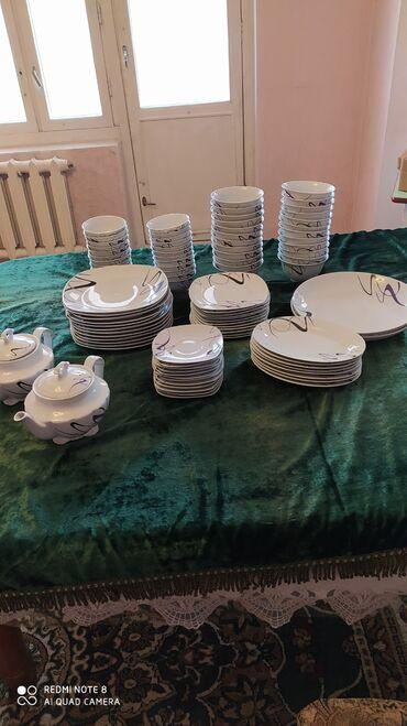 Продам посуды 96 персон, новая в коробке, производства КНР, отличная
