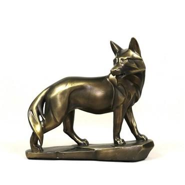 Bakı şəhərində Cкульптура волк  талисман Декор подарок
