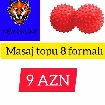 Toplar - Azərbaycan: Masaj topuYenidir.İkinci əl deyil.Catdırılma var.Maraqlanmaq istəyən