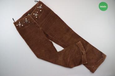 Жіночі велюрові штани з декором Morgan, р. S   Довжина: 94 см Довжина