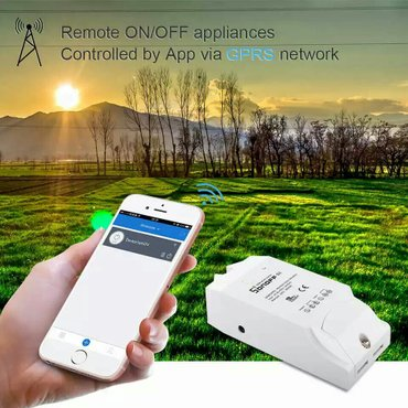 Bakı şəhərində AqlLLl ev sonoff  ( G1 )  smart switch / Wi- fi /   GPRS GSM - SIM 800