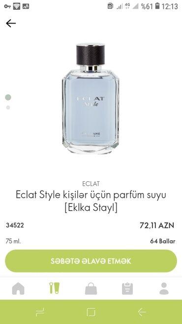 bel üçün karsetlər - Azərbaycan: Eclat style kişilər üçün parfüm suyu