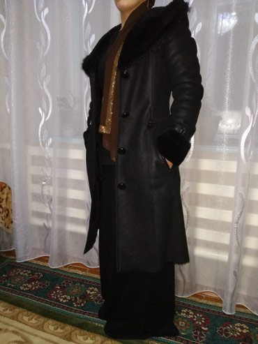Дублёнка натуралка 44-46 размер, в Бишкек