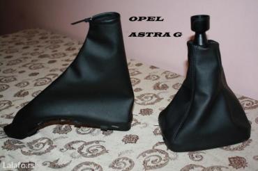 Opel astra g- kozica za menjač i ručnu. Fina eko koža,  originalni - Novi Sad