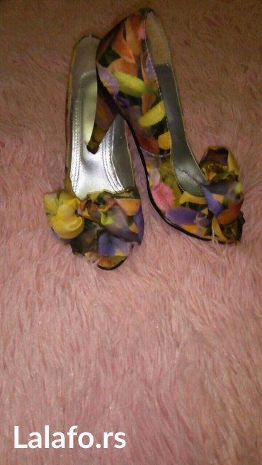 Novo!!! Satenske sarene sandale za leto br 35 - Belgrade